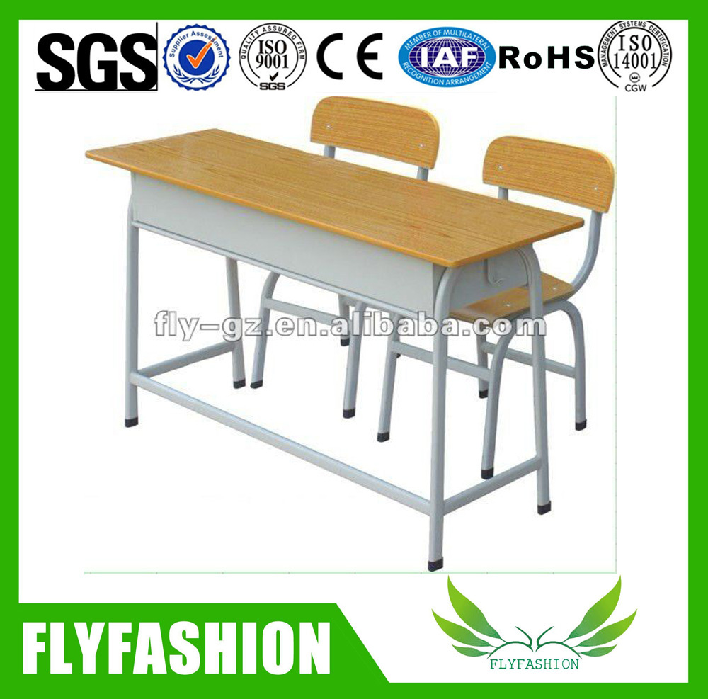 wood and steel university classroom furniture