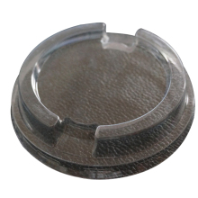 Food Grade Clear plastic yogurt cup lid disposable plastic PET <strong>flat</strong> lids coffee cup lids