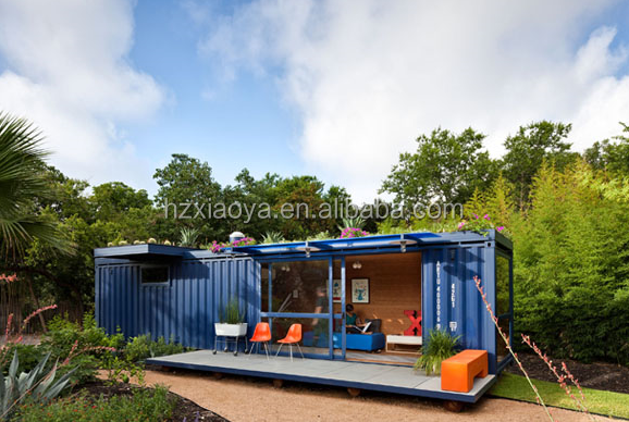 Eco friendly prefab shipping container house unfold prefab house