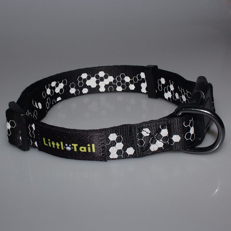 Hot selling New arrival custom Reflective dog collar nylon strap top quality