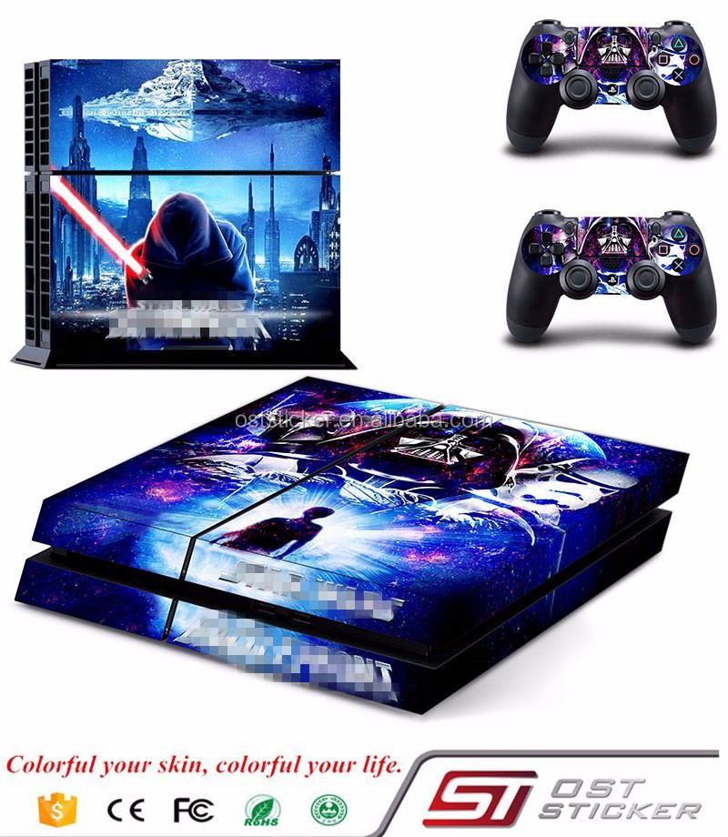 Hot selling Sticker Skin for PS4 Vinyl Sticker For Sony Playstation 4 Controller Accessories Skin