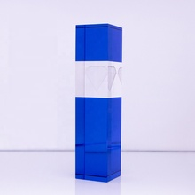 wholesale crystal trophy acrylic glass award blank honor souvenirs <strong>gifts</strong>