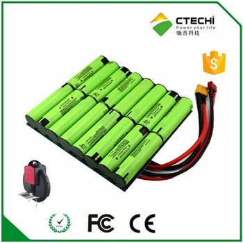 E-bike battery 60V li ion battery pack NCR18650PF