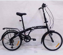 black bike/bicycle with carrier HL-F029