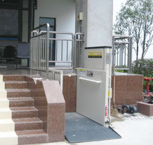 hydraulic outdoor wheelchair lift platform, disabled person assistant