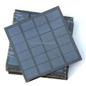 Custom made 6V 1.5W epoxy resin mini solar panel with poly crystalline solar cell