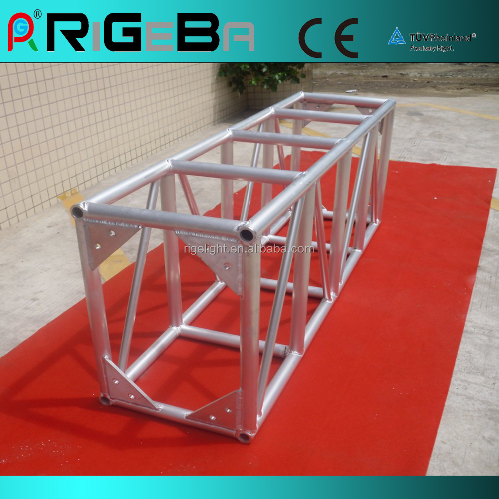 520 760mm aluminum screw square truss lighting truss event for Order trusses online