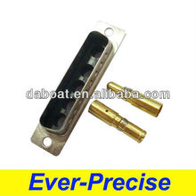 5 pin solder type d-sub male header connector