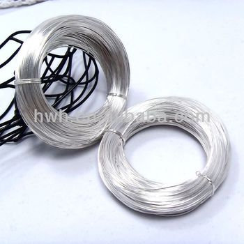 Silver Wire 925 Many Sizes 0.3mm~2.5mm Soft / Hard DIY Jewelry