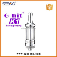 2014 best G-hit k1 atomizer kit electric cigarette rolling machine