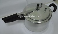 8L mirror polished Aluminium rice Pressure Cooker With Inner Lid