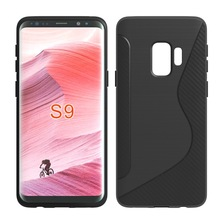 IKFCASE New s line brushed cellphone tpu case for Samsung Galaxy S9 back cover