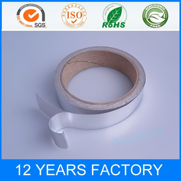 2015 Hot sale Good moisture resistance and chemical resistance Aluminum tape
