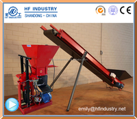 ECO BRAVA clay brick machine interlock brick machine