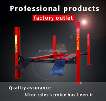 Direct Factory CE ISO Certification 4 Four Post Car Lift Elevator Wheel Alignment 5.5 Tons Y4J-5500