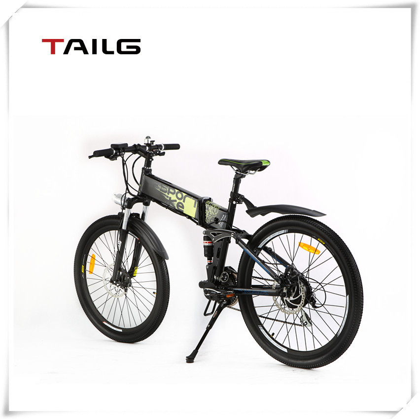 2015 Factory New Style Alloy Frame Lithium Electric Mountain Bike