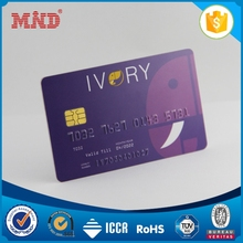 MDCC1070 Contact Blank PVC Smart ID Card with IS4428 CHIP