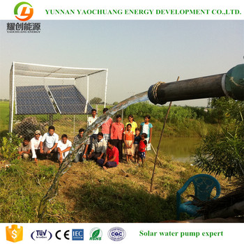 2.2KW high pressure pump for borehole submersible solar power water pump agriculture irrigation