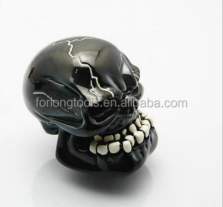 AUTO RESIN SKULL HEAD FOR CAR GEAR SHIFT KNOB