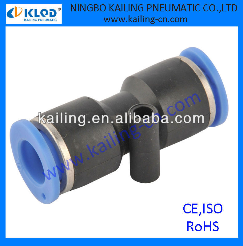 air hose fittings, plastic material, union straight type, PUC series