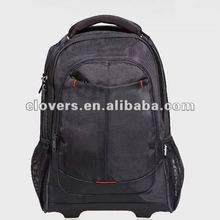 1680D polyester designer rolling laptop bags with factory directly pricing