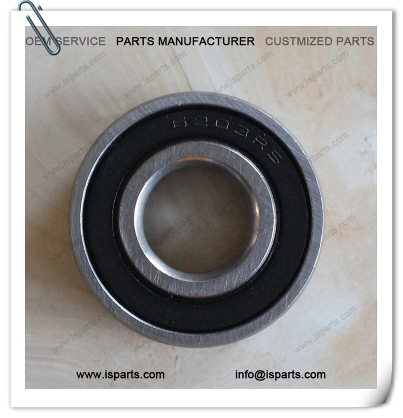 6203 Rubber Seals deep groove ball bearing