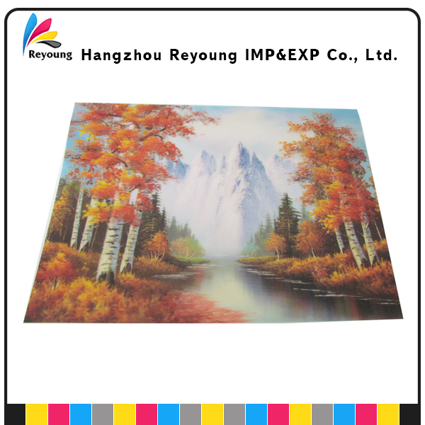 Customized Natural Scenery 3D Postcard Printing