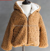2016 winter and winter baby cotton baby baby warm wool coat