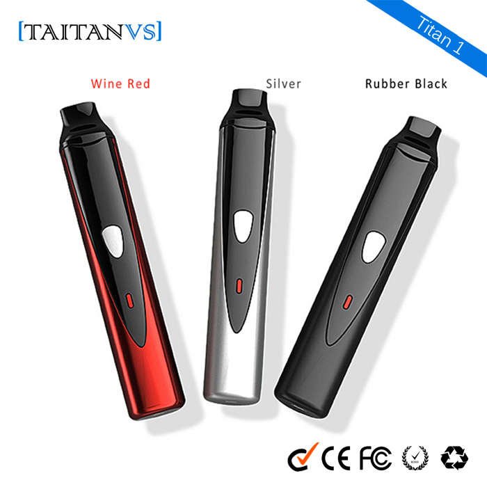 herbal starter kit 2200mAh portable vaporizer smoking device atomizer Taitanvs