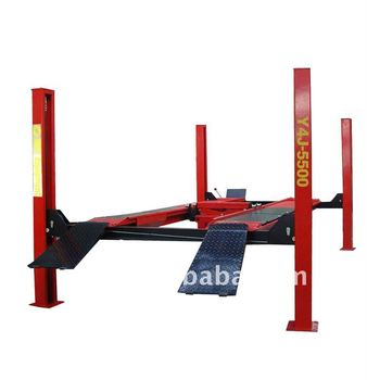 Y4J-5500 four post wheel alignment lift