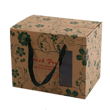 Oem Paper Packing Box Corrugated Paper Box For Fruit Packaging