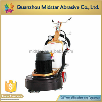 Midstar floor surface grinding cleaning machines