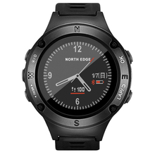 North Edge 5ATM waterproof GPS navigation multi sports mode bluetooth IOS Android smartwatch
