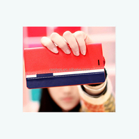 Flip PU Leather Cover Case Customized Mobile Phone Wallet Card Holder Case For Xiaomi Redmi II/ Redmi NOTE