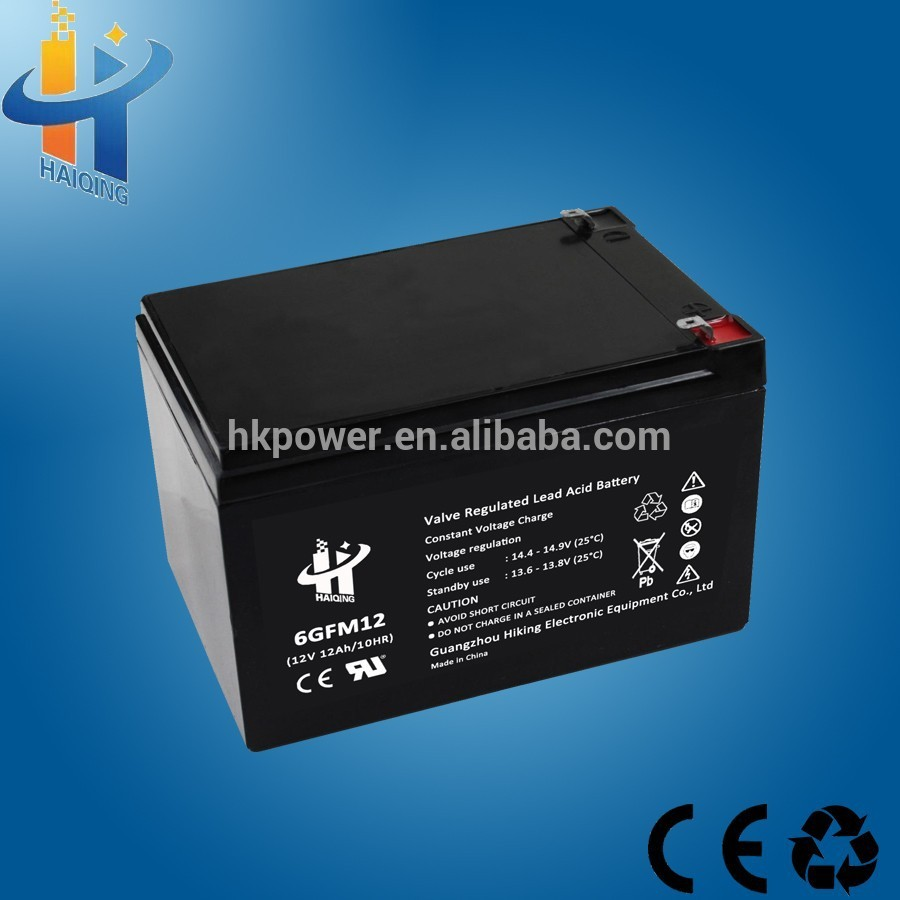 Hot selling 12V 12Ah rechargeable battery VRLA storage battery