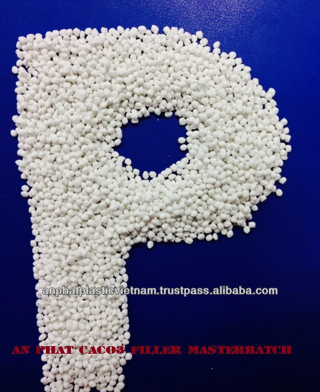 Plastic material Polyethylene Caco3 filler masterbatch for blown film