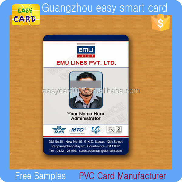 Free Sample Embloyee Id Cards - Buy Employee Id Card,Free Employee