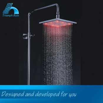 High Quality Promotional Price Ceiling Led Shower Rain Head Bath Accessory