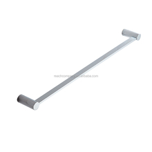 2017 New Design Wall Mounted Brass Chrome Bathroom Towel Hanger Single Bar Holder