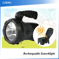 (F09032) 2016 super brightness emergency light rechargeable led searchlight portable high power led hand held search light for h