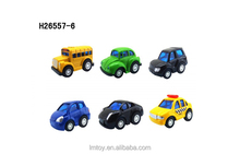 Diecast mental pull back mini toy car with diffrent styles