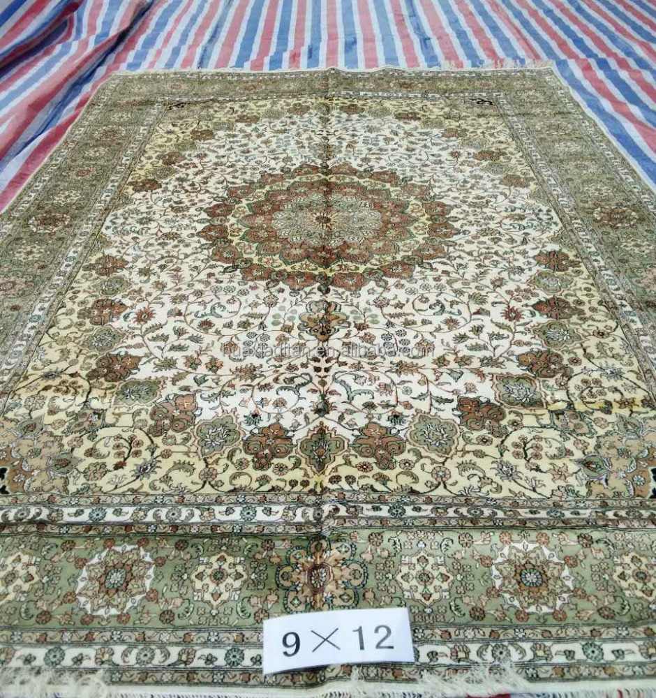 muslim turkish belgium indian chinese handmade silk rug