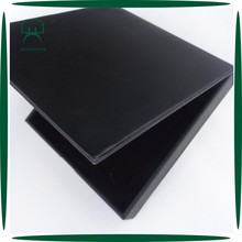 custom design square black CD/DVD/VCD box