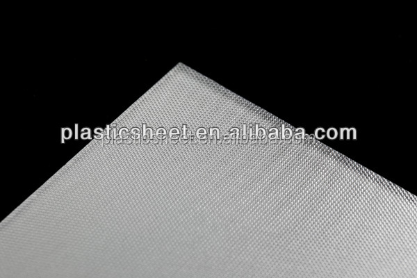 LED PS sheet for LED plastic extrusions