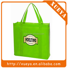 Alibaba China factory supplier green non-woven shopping bags