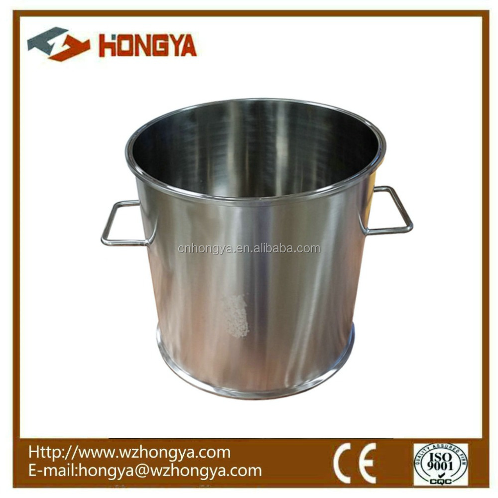 "12"" * 12"" Sanitary Stainless Steel Tri Clamp Extractor spool weld based tank with Handle"