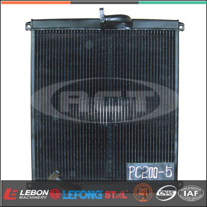 PC200-5 Excavator hydraulic oil cooler price