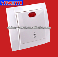 european high quality /french switch/wall switch with light