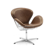 Aviator swan chair,aluminum swan chair