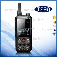 Inrico T298 Handheld 3G Smart PTT network hf radio portable mini speaker with fm two way radio